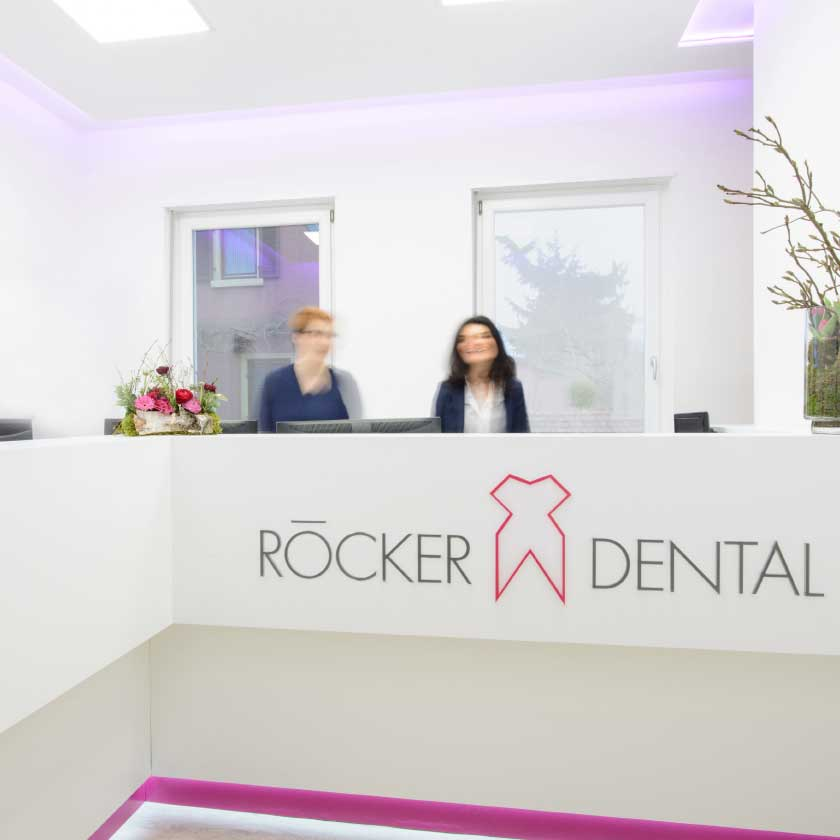 empfang roecker dental 1 - Roecker Dental